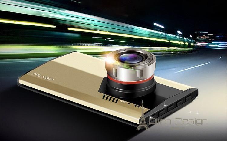 Видеорегистратор автомобильный Full HD 1080 P G-170 градусов объектив 2,8 дюйма обнаружение движения ночного видения ультра тонкий
