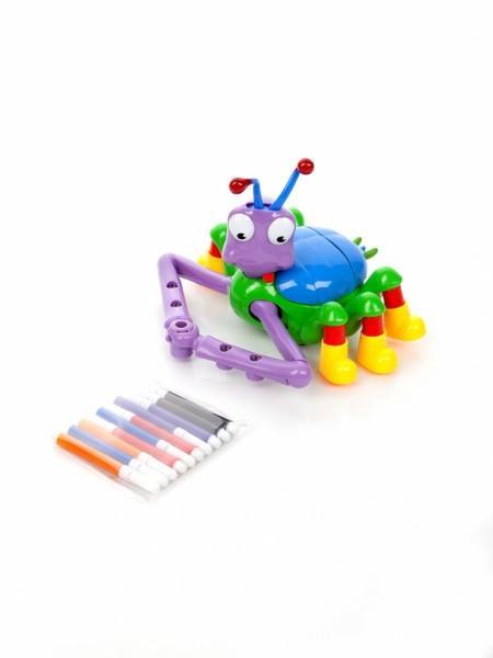 Развивающая игрушка Паучок-художник