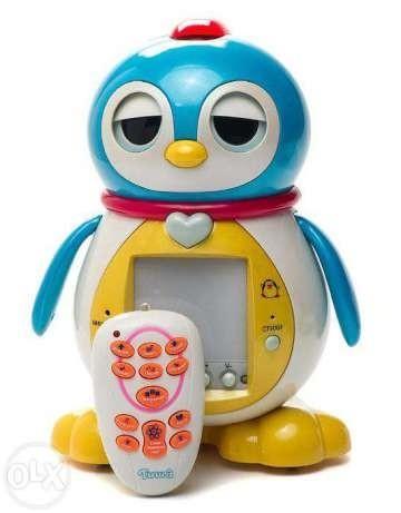 Интерактивный пингвин Тиша с пультом управления