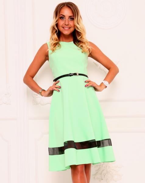Платье без рукавов А118-1