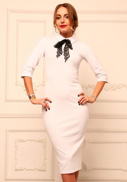 Белое платье АП150-1