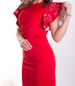 Фото Luzan Платье Есения с перфорацией (2 цвета)