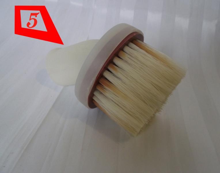 Насадка на пылесос круглая со щетиной