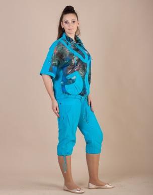 Летний женский костюм для прогулок и отдыха Миная