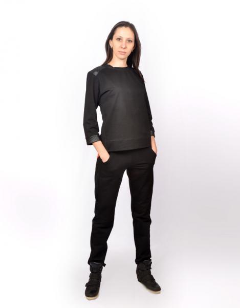 Женский спортивный костюм с шифоной вставкой CK-0353