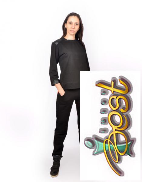 d060c63a3d6 Фото Женские спортивные костюмы от ТМ Interbest Женский спортивный костюм с  шифоной вставкой CK-0353
