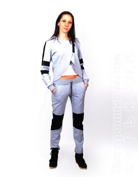 Стильный и модный женский спортивный костюм CK-0342