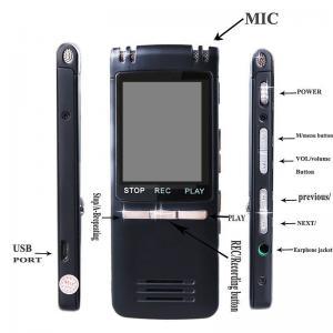 Фото Цифровые диктофоны Mp3 плееры 8гб цифровой диктофон мини SK992  mp3-плеер ультратонкий профессиональный двойной микрофон 1536 KBPs