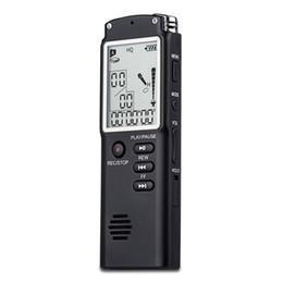 """T60  Профессиональный цифровой диктофон 8гб памяти большой ЖК дисплей 1,6 """" + mp3-плеер"""