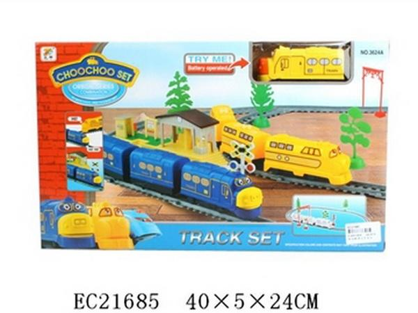 01003624 Железная дорога 3624A, батар., свет, звук, в кор. 40x5x24 см