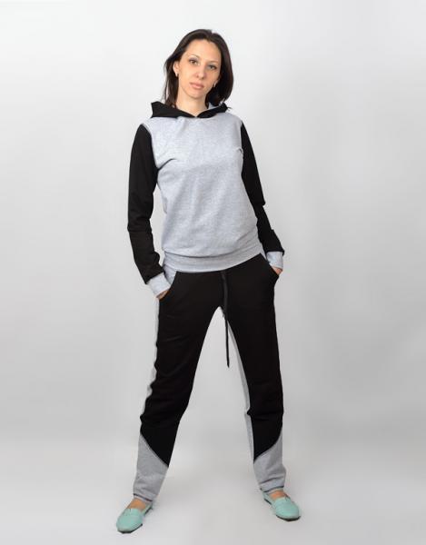 Женский комбинированный костюм СК 242