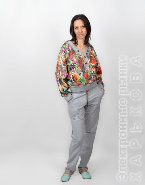 be48c22c6af Трикотажный женский костюм СК 223 - Женские костюмы купить с фото и ...