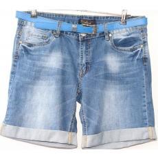 ЦЕНА - 260 грн.(шт.) Шорты джинсовые женские ПОЛУБАТАЛ BLUE LILY 200 - BL - 286
