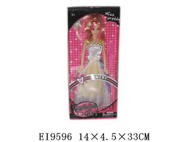 02000052 Кукла 005-2, Barbie, 14x4,5x33 см