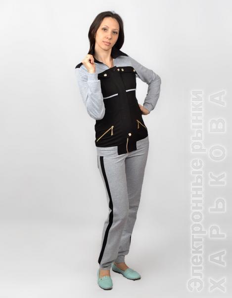 25f767dab67 Стильный женский костюм СК 219 - Женские костюмы купить с фото и ...