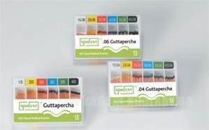 Фото Для стоматологических клиник, Эндоинструменты Гуттаперчевые штифты 120 шт (конус.02)