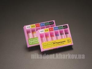 Фото Для стоматологических клиник, Эндоинструменты Бумажные штифты, 100 шт (конус.06)