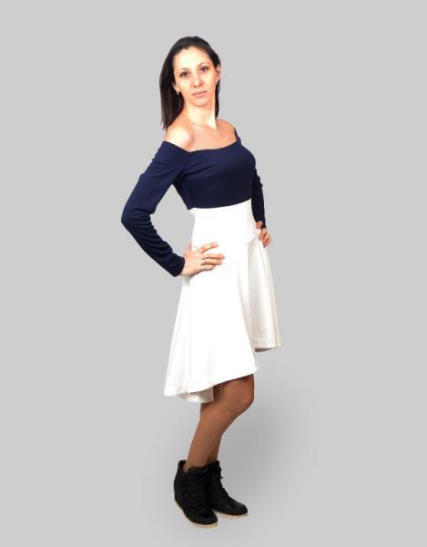 Оригинальное женственное платье Мурка - 1