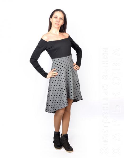 9cbf0875be1 Молодежное модное платье Мурка - Платья