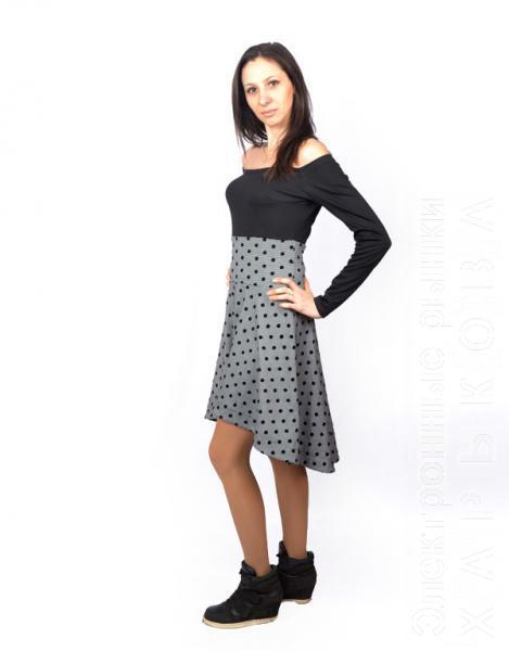 7d1cf147891 ... Молодежное модное платье Мурка - Платья