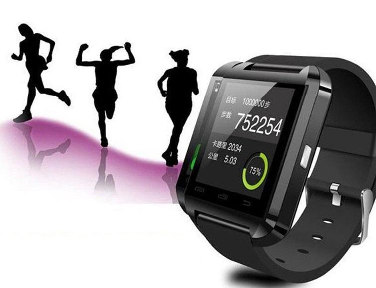Uwatch U8 умные часы браслет смарт Bluetooth на iOS или Android