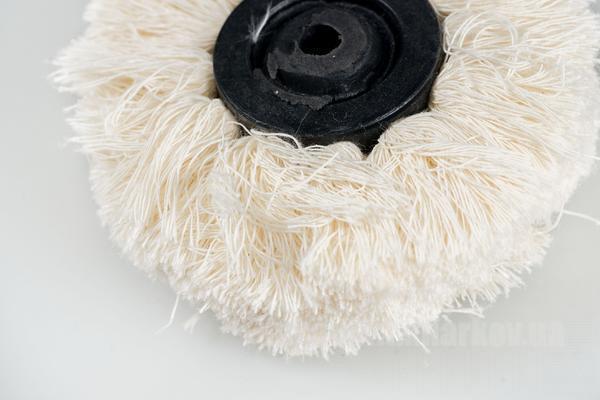 Фото Для зуботехнических лабораторий, АКСЕССУАРЫ, Полиры, щетки, диски Мулька-щетка тканевая