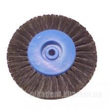 Фото Для зуботехнических лабораторий, АКСЕССУАРЫ, Полиры, щетки, диски Щетка натуральная черная 2х рядная на шлифмотор