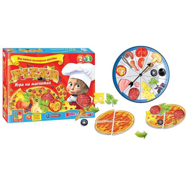 Игра на магнитах «Пицца» Vladi toys VT1504-21