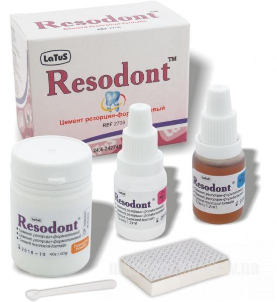 Фото Для стоматологических клиник, Материалы, Эндоматериалы Резодонт (Resodont)