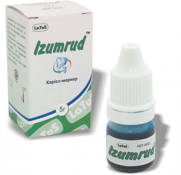 Izumrud (Изумруд)- индикатор кариеса