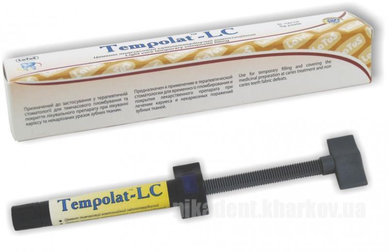 Фото Для стоматологических клиник, Материалы, Временные материалы Tempolat (Темполат)-LC 5г