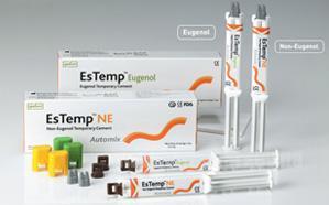 Фото Для стоматологических клиник, Материалы, Временные материалы EsTemp NE (ЭсТемп Н Е - 2*10гр) - Для временной фиксации,