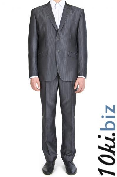 Костюм темно-серый в полоску с отливом Мужские классические костюмы, смокинги в ТЦ Атриум Харьков