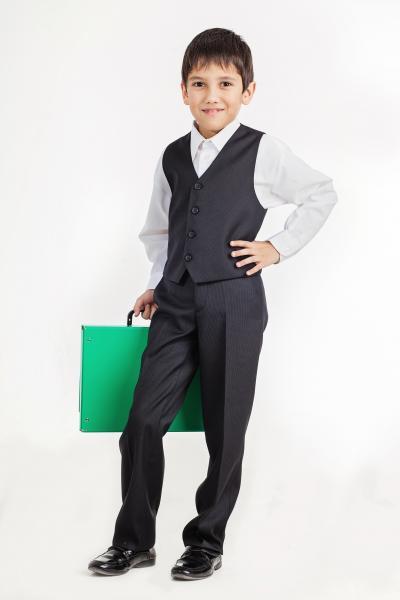 детские брюки и жилеты