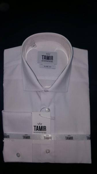 Рубашка Slim Fit белая
