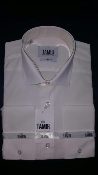 Рубашка Slim Fit айвори