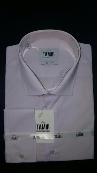 Рубашка Slim Fit сирень
