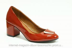 Фото Туфли Женские туфли красный лак