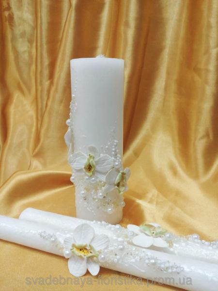 """Семейные свечи """"Букет орхидей"""""""