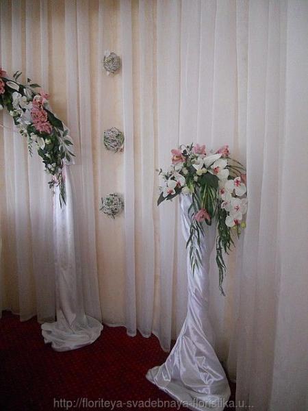 Свадебные цветочные стойки (продажа и прокат)