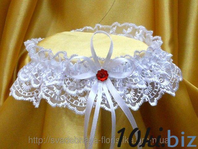 Подвязки для невесты с красным стразам Свадебная подвязка невесты в ТРЦ «Французский бульвар» в Харькове