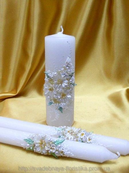 """Свадебная свеча """"Семейный очаг"""""""