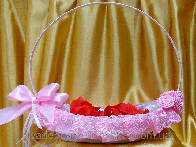 Корзинка для лепестков роз