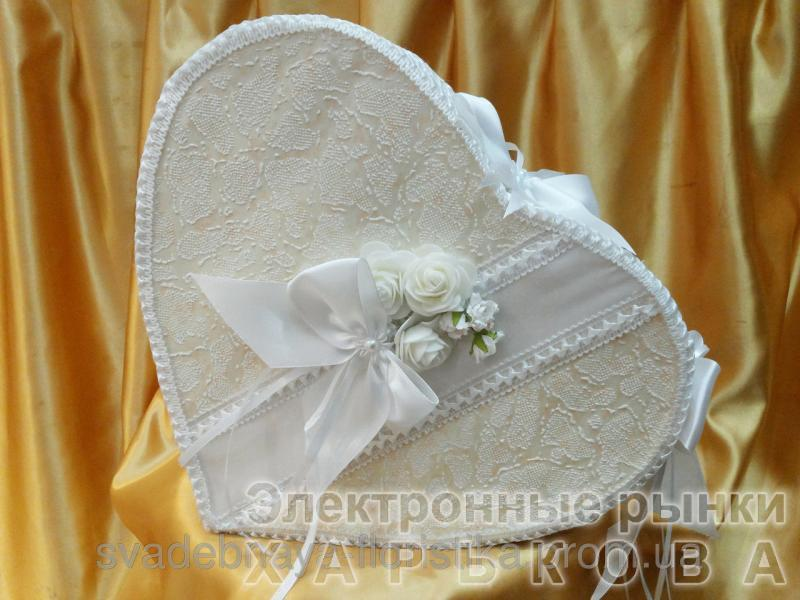 """Свадебный сундук """" Сердце"""" для денег. - Свадебные коробки для денег на рынке Барабашова"""