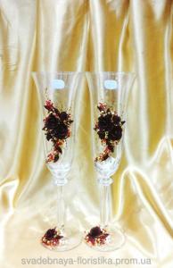 Фото Свадебные бокалы Бокалы свадебные