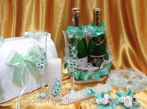 Фото Свадебные аксессуары в едином стиле Свадебные аксессуары в едином стиле