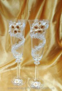 Фото Свадебные бокалы Бокалы