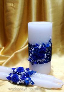 Фото  Свадебный набор свечей