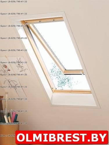 Панорамное мансардное окно Velux GPL в Бресте