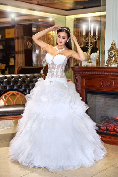 Свадебное платье Воздушная роза
